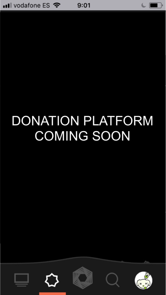 The donations platform